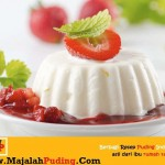 Foto Resep Puding Tahu Topping Strowbery