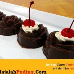 Gambar Foto Resep Puding Black Forest Topping Buah